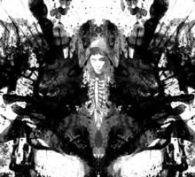 Imaginary Inkblot- Donnie Darko Shirt Sticker