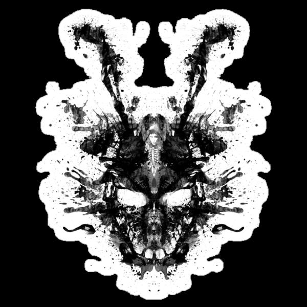 Imaginary Inkblot- Donnie Darko Shirt by spacemonkeydr