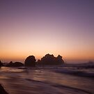 First light at Camel Rock by Cathy Middleton