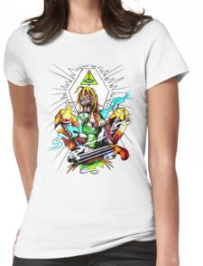 Zombie fun Womens Fitted T-Shirt