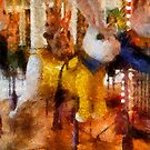 Childhood Dreams II - The Easter Bunny Rides Again by Bunny Clarke