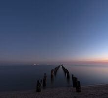 Awaiting Sunrise by John Sharp