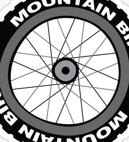 Mountain Bike Wheel Sticker
