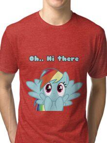 Oh...Hi There. Tri-blend T-Shirt