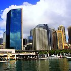 Looking back at Circular Quay,Sydney by waxyfrog