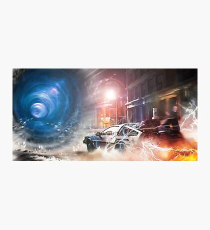 Back to the Future Tribute Photographic Print