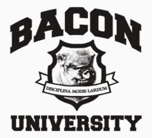 Bacon University Kids Clothes