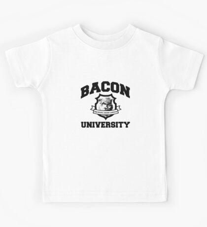 Bacon University Kids Tee