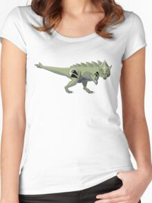 Pokesaurs - Tyranitaurus Women's Fitted Scoop T-Shirt