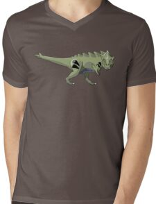 Pokesaurs - Tyranitaurus Mens V-Neck T-Shirt