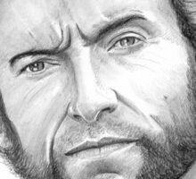 Hugh Jackman, the Wolverine! Sticker