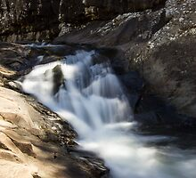 The Little Fall - Cedar Creek Falls by Daniel Rankmore