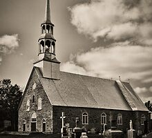 The church by Richard Fortier