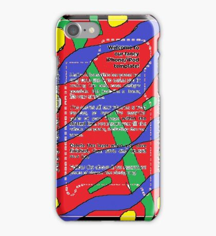 maximin flow iPhone Case/Skin