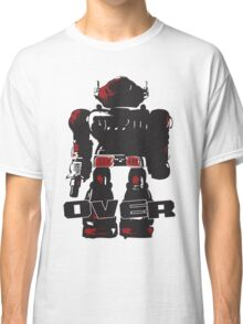 Robot Over Classic T-Shirt