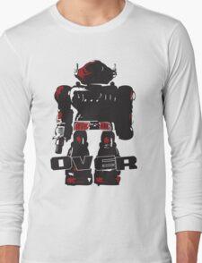Robot Over Long Sleeve T-Shirt