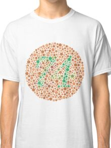 Color-blind test Classic T-Shirt