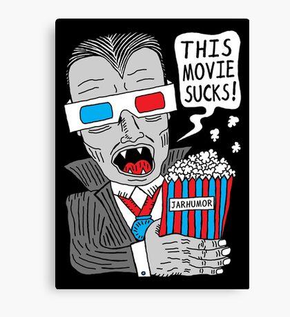 This Movie Sucks Canvas Print