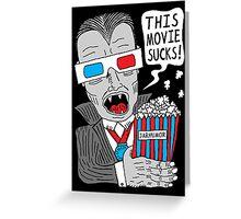 This Movie Sucks Greeting Card