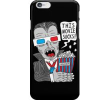 This Movie Sucks iPhone Case/Skin