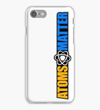 Atoms Matter iPhone Case/Skin