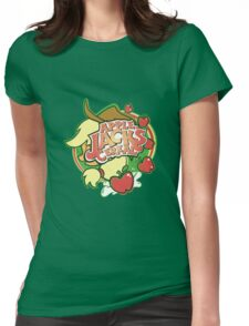 Applejack's Cereal Womens Fitted T-Shirt