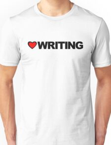Love Writing Unisex T-Shirt