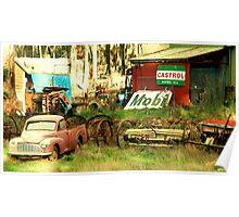 Bush Car Yard  Poster