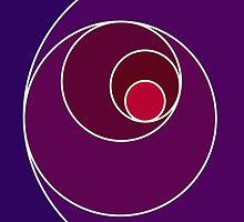 Purple Infinite Spiral by jmcoleman