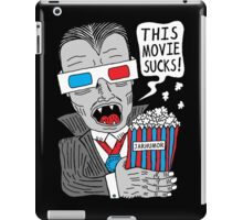 This Movie Sucks iPad Case/Skin