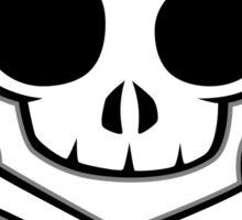 Skull & Crossbones under Sticker