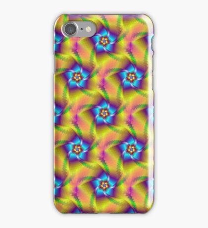 Floral Spiral Tiled iPhone Case/Skin