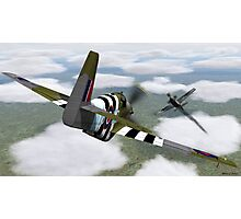Dogfight Photographic Print