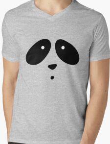 MR. PANDA Mens V-Neck T-Shirt