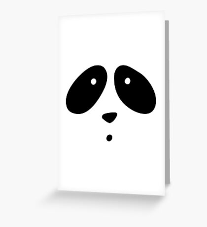 MR. PANDA Greeting Card