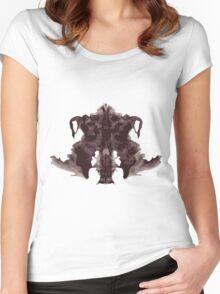 Inkblot Women's Fitted Scoop T-Shirt