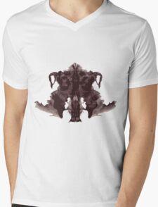 Inkblot Mens V-Neck T-Shirt