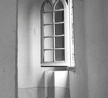 Open Window in an Abandoned House by James2001