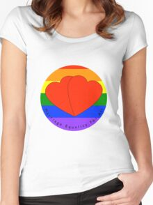 Marriage Equality Women's Fitted Scoop T-Shirt