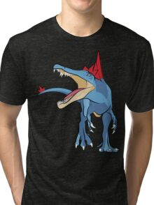 Pokesaurs - Spinosaurus Johtoiacus Tri-blend T-Shirt