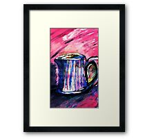 The Pitcher,, watercolor Framed Print
