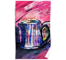 The Pitcher,, watercolor Poster