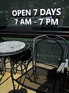 Open 7 Days by Nevermind the Camera Photography