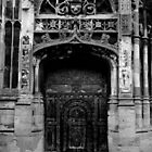 Canterbury Cathedral - Door Outside the Gate by rsangsterkelly