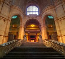 Inside Hanover's New Townhall  by herbspics
