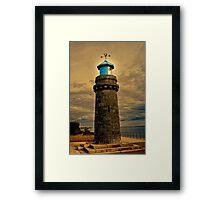 Teignmouth Lighthouse Framed Print