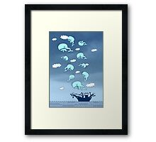 Where Have the Whales Gone? Framed Print