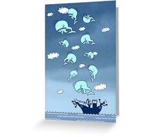 Where Have the Whales Gone? Greeting Card
