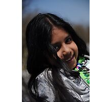 portrait of a girl Photographic Print