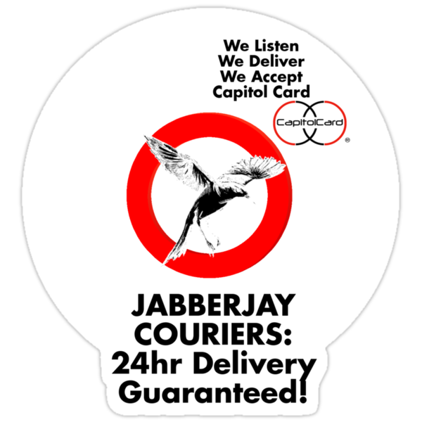 Jabberjay Couriers - We Listen! by amanoxford